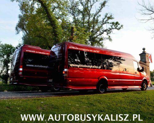 Wynajem busów i przewóz osób - Autobusy Kalisz