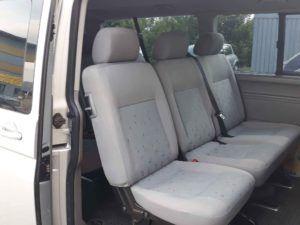 Volkswagen Caravelle wnętrze
