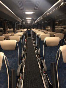 Wnętrze autokaru - 55 osób